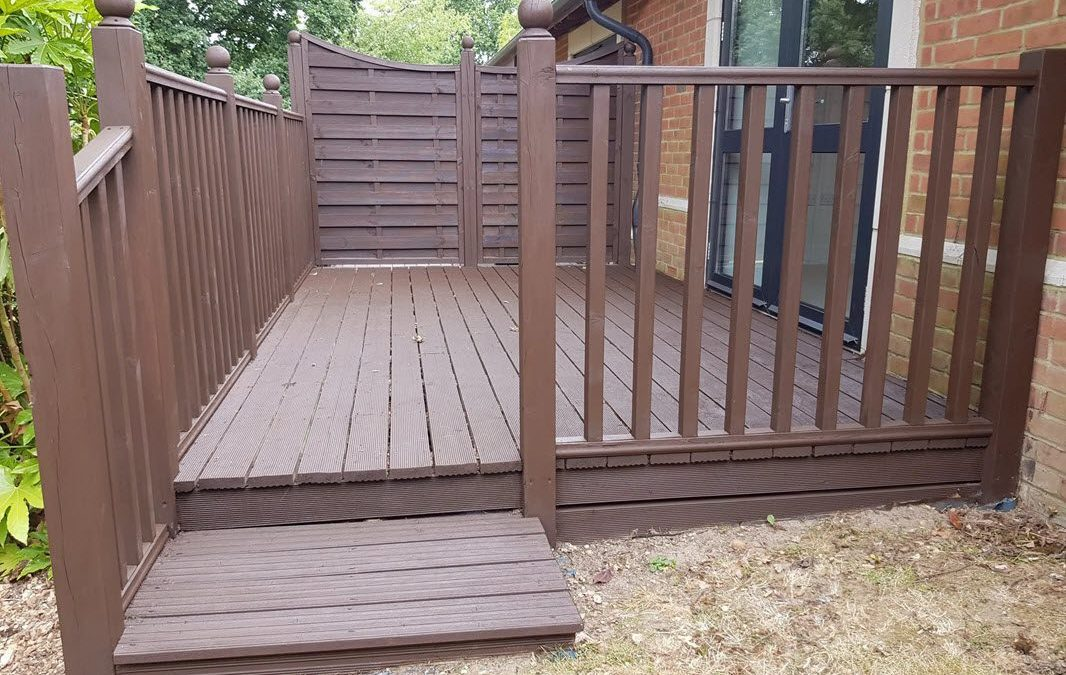 Grove Place – Decking – before